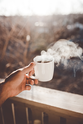 Without the sense of smell, coffee doesn´t taste anymore.